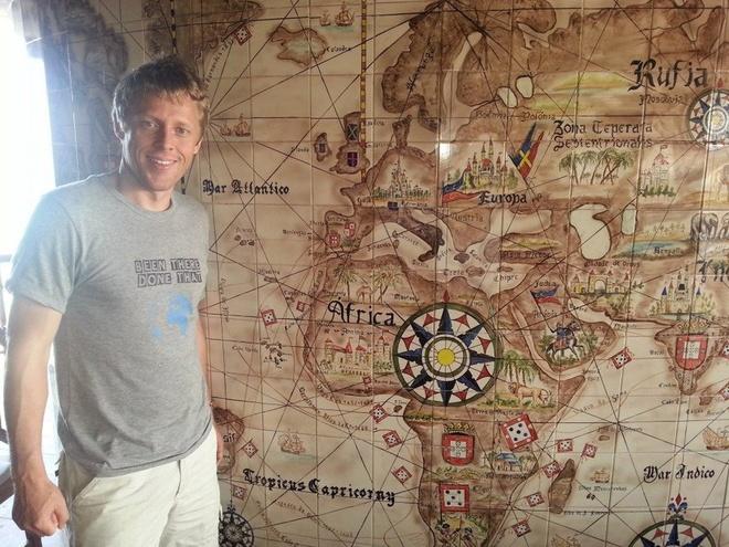Chang trai di du 198 nuoc truoc tuoi 40 hinh anh 20 Garfors kết thúc chuyến đi vòng quanh thế giới ở Cape Verde, một quốc gia nằm trên quần đảo ngoài khơi tây bắc châu Phi.