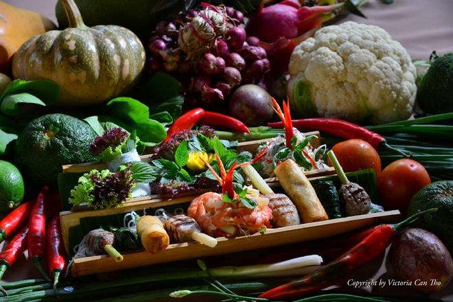 Món khai vị được chế biến từ những nguyên liệu địa phương với biến tấu mới mẻ, sáng tạo.