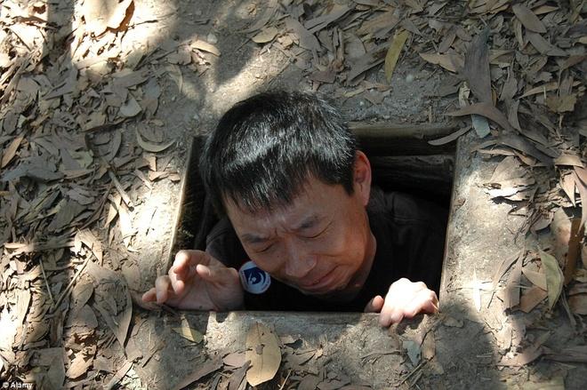 Dia dao Cu Chi - mot trong nhung diem den la nhat the gioi hinh anh