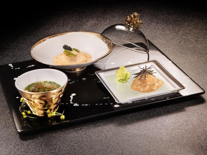 Nhung bua an sieu dat chi danh cho dai gia hinh anh 12 Le Caviar và trứng cá hồi Osetra là hai món nổi tiếng nhất tại nhà hàng này.