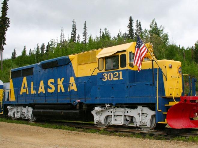 Aurora-Express (Mỹ): Nằm ở Fairbanks, khách sạn này là một con tàu cũ của công ty đường sắt Alaska.