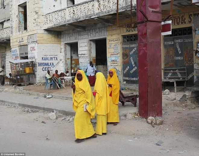 Noi du khach phai co cac tay sung ho tong hinh anh 12 Những người từng tham gia chuyến đi này cho biết đây là một trải nghiệm giúp họ thấy được những mặt tích cực của Mogadishu.