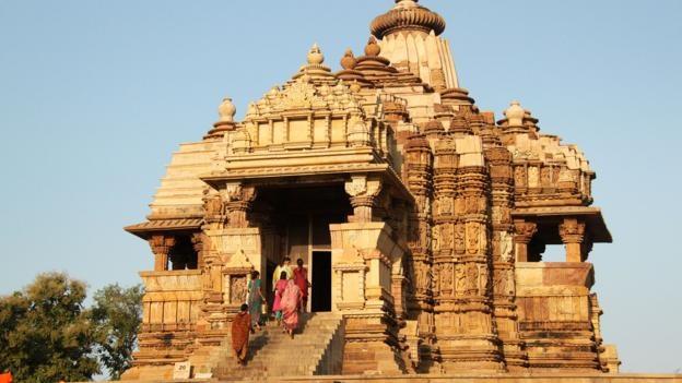 Ngoi den o An Do khien du khach do mat hinh anh 1 Hiện tại chỉ còn 22 ngôi đền trong tổng số 85 đền ban đầu.