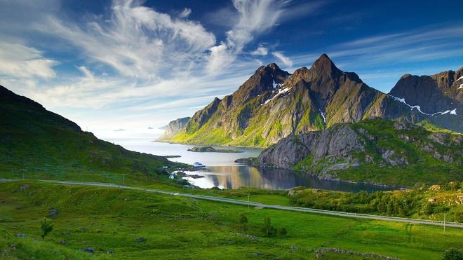 Ve dep cua 10 quoc gia thinh vuong nhat the gioi hinh anh 1 1. Na Uy: Quốc gia vùng Scandinavia này lại một lần nữa dành vị trí đầu bảng trong 7 năm liên tiếp. Đây cũng là quốc gia duy nhất lọt vào top 10 của mọi chỉ số phụ. Ảnh: Hdwallpapersnew.