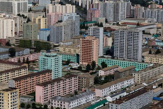 8 ngay tham thu quoc gia bi an nhat hanh tinh hinh anh 6 Pyongyang có nhiều khu nhà cao tầng, với quy mô phát triển lớn hơn những gì Erick Tseng tưởng tượng.
