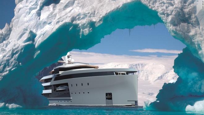 Sieu du thuyen co kha nang pha bang nhu tau chien hinh anh 1 Các tỷ phú có máu phiêu lưu hẳn đều muốn sở hữu con tàu có thể đến tận cùng thế giới như SeaXplorer - siêu du thuyền mạnh mẽ nhất hành tinh.