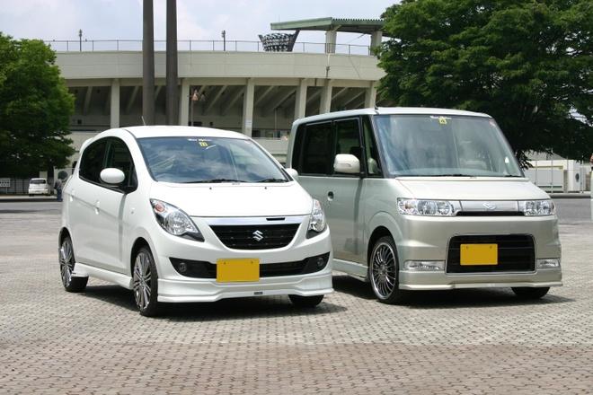 Xe Kei: Những chiếc xe này có động cơ 3 xi lanh, công suất chỉ khoảng 660 cc, nhưng giá mua và vận hành rất rẻ.  Ảnh: Japan365/Wordpress.