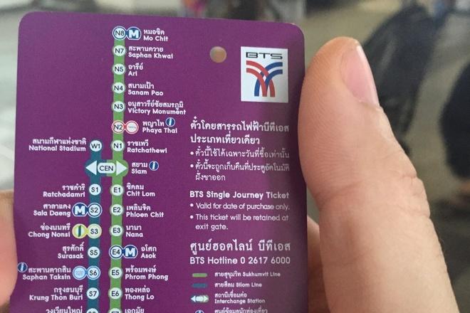 Duong sat tren cao o Bangkok duoc long du khach quoc te hinh anh 13
