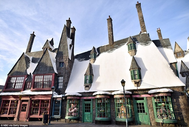 The gioi phu thuy Harry Potter o Hollywood hinh anh 8