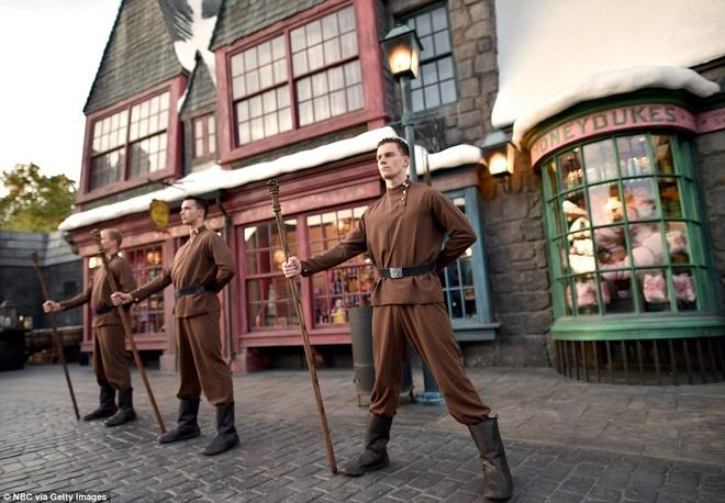 The gioi phu thuy Harry Potter o Hollywood hinh anh 13