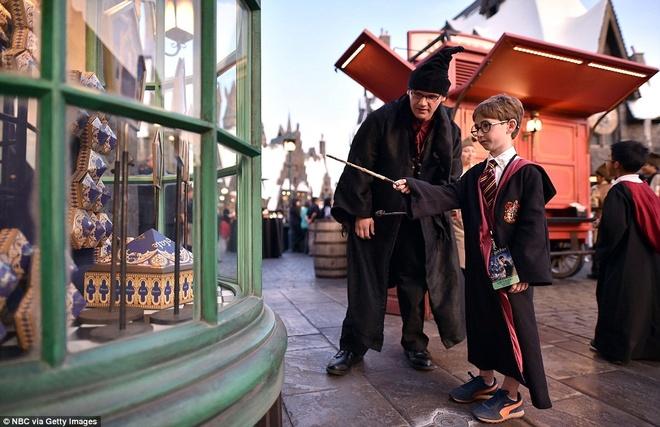 The gioi phu thuy Harry Potter o Hollywood hinh anh 16