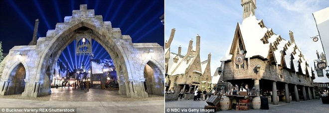 The gioi phu thuy Harry Potter o Hollywood hinh anh 5
