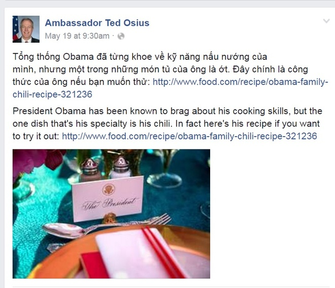 Hoc cach lam mon tu cua Tong thong My Obama hinh anh 2