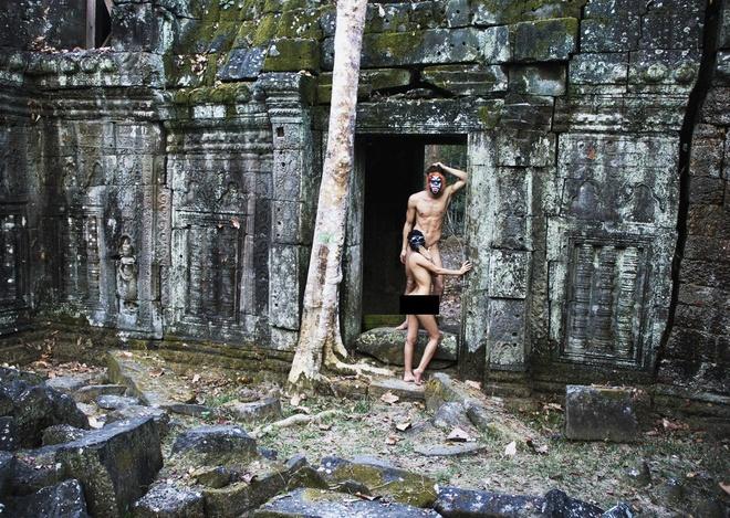 Campuchia cam du khach mac ho hang o Angkor anh 2
