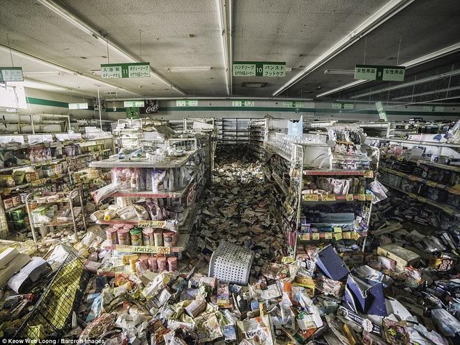 Hinh anh lanh nguoi o khu vuc nhiem phong xa cua Fukushima hinh anh 4