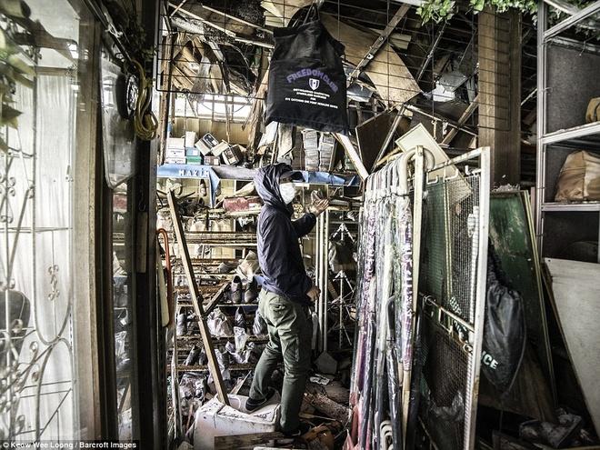 Hinh anh lanh nguoi o khu vuc nhiem phong xa cua Fukushima hinh anh 9