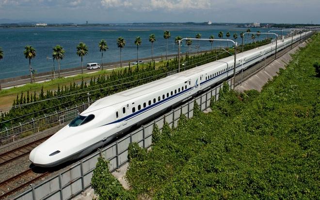 Kết quả hình ảnh cho tàu shinkansen nhật bản