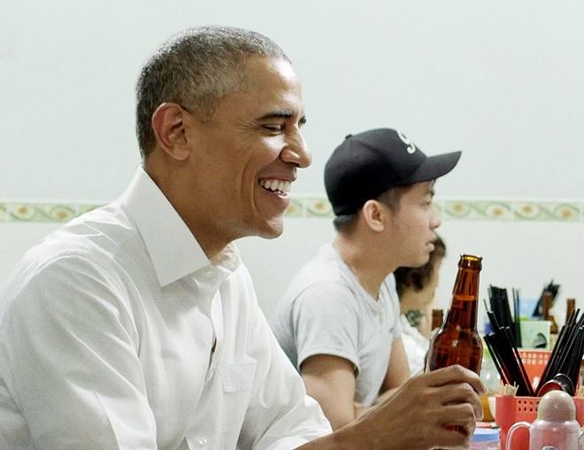 Obama het loi khen bun cha Ha Noi tren kenh CNN hinh anh