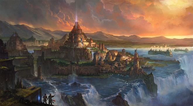 Nhung truyen thuyet bi an ve thanh pho huyen thoai Atlantis hinh anh