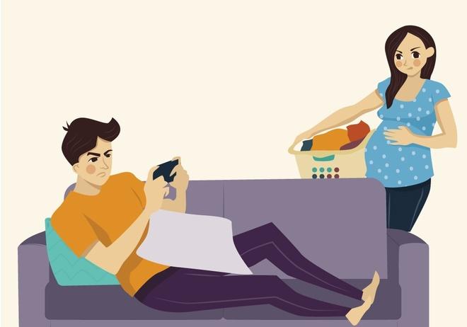 Khi mang thai, vo kho chieu hay chong khong thau hieu? hinh anh