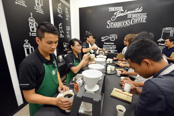 Quy trinh san xuat ca phe cua Starbucks hinh anh 8
