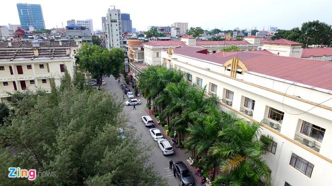 Toan canh khu dat khach san Kim Lien sap dau gia hinh anh 11