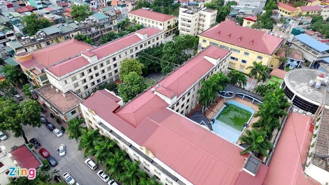 Toan canh khu dat khach san Kim Lien sap dau gia hinh anh 6