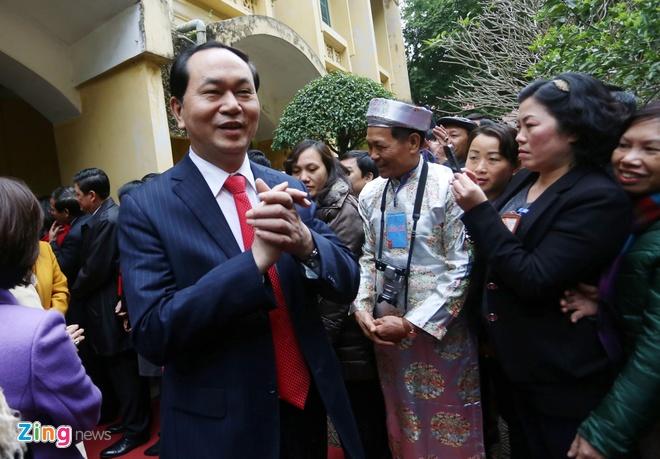 Dai tuong Tran Dai Quang dang huong tai Hoang thanh hinh anh 5