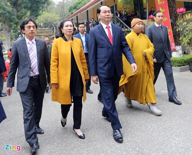 Dai tuong Tran Dai Quang dang huong tai Hoang thanh hinh anh 1