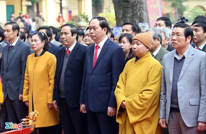 Dai tuong Tran Dai Quang dang huong tai Hoang thanh hinh anh 2