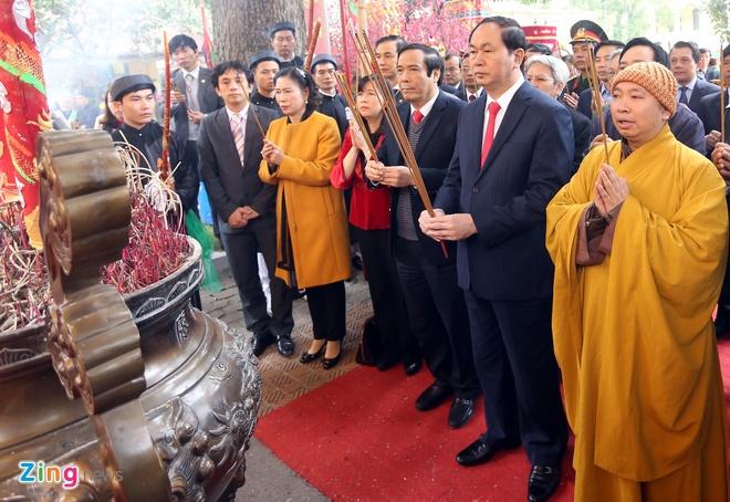 Dai tuong Tran Dai Quang dang huong tai Hoang thanh hinh anh 3