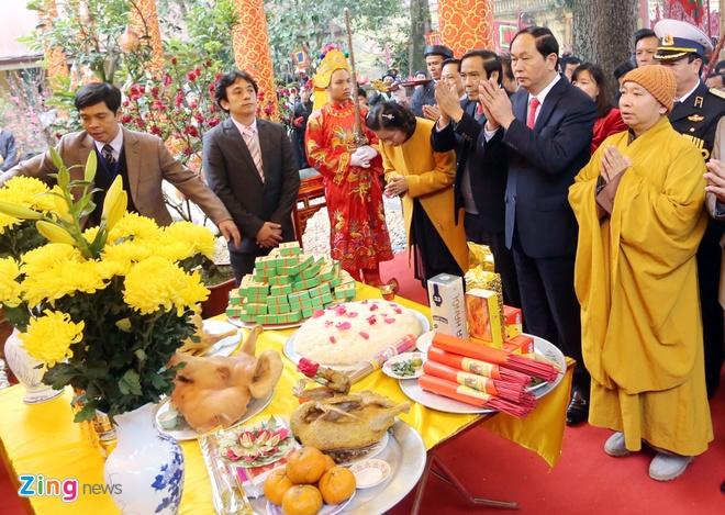 Dai tuong Tran Dai Quang dang huong tai Hoang thanh hinh anh 4