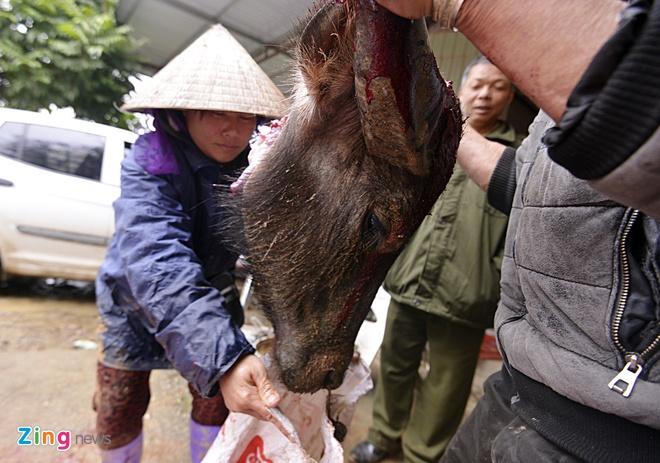 Chich dien, xe thit trau o Vinh Phuc hinh anh 7