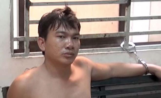 CSGT tom gon nghi pham cuop giua duong Sai Gon hinh anh