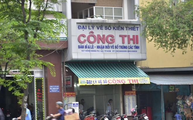 Dung sung cuop dai ly ve so o Sai Gon hinh anh