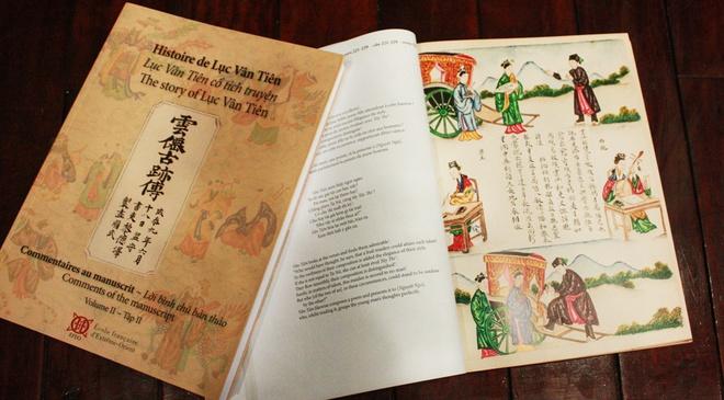 Tranh ve 'Luc Van Tien' xuat ban sau mot the ky quen lang hinh anh 2