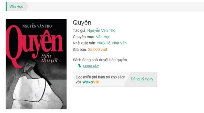 Quyen,  Nguyen Van Tho,  VLCC anh 1