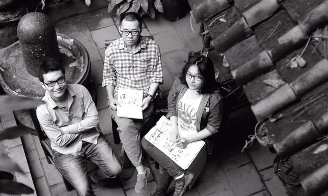 Truyen tranh Viet Nam,  NHK World,  Comic Day anh 2
