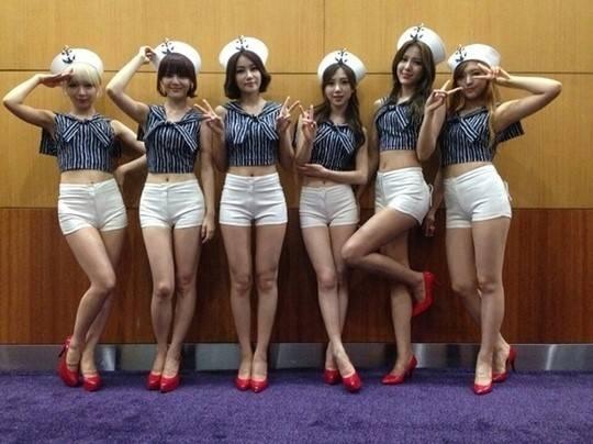 Girl group dan em lai bi 'nem da' vi cover hit cua SNSD hinh anh