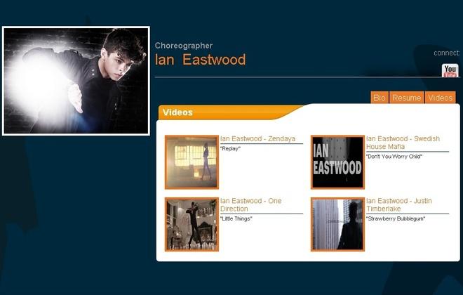 Ro tin Taemin (SHINee) khoi dong nghiep solo hinh anh 2 Hồ sơ giới thiệu về Ian Eastwood trên trang chủ của MSA.