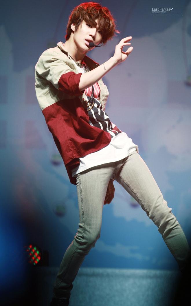 Ro tin Taemin (SHINee) khoi dong nghiep solo hinh anh 3 Taemin nổi bật nhờ tài năng nhảy điệu nghệ trong SHINee. Ảnh: last fantasy