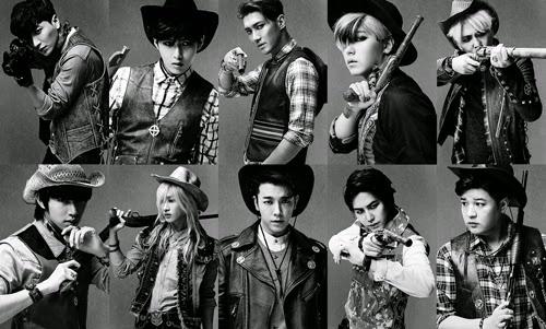 Super Junior hoa cao boi dien trai trong 'MAMACITA' hinh anh