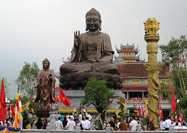 Chiem nguong tuong Phat bang dong 150 tan lon nhat Viet Nam hinh anh