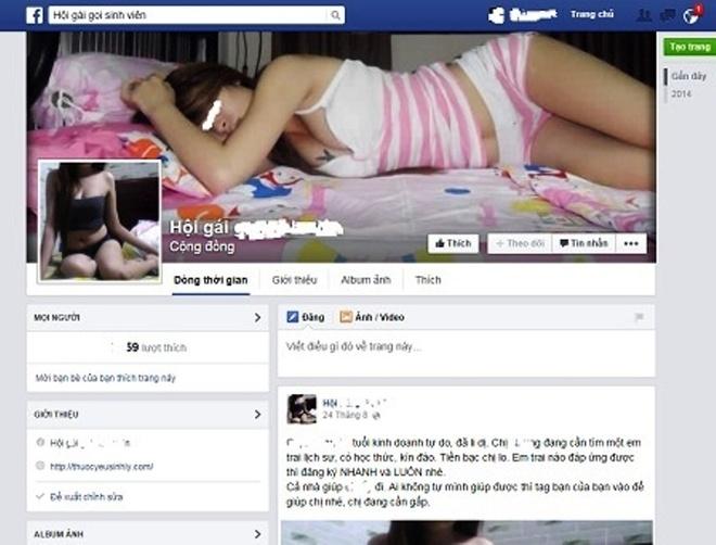 Tham nhap chon 'lau xanh' ngap tran tren Facebook hinh anh 1