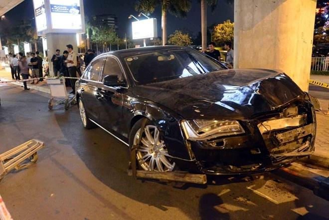 Chuyen cong an TP HCM dieu tra vu xe Audi tong chet nguoi hinh anh