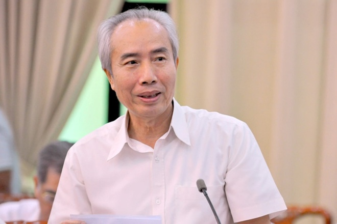 Kenh nao de dan gop y nhan su cho Dang? hinh anh 3 Nguyên Chủ tịch MTTQ VN Huỳnh Đảm.