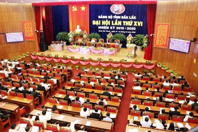 Sau tu nhiem, ban chap hanh cu duoc di nghi duong Han Quoc hinh anh 1 Đại hội đại biểu Đảng bộ tỉnh Đắk Lắk lần thứ XVI nhiệm kỳ 2015 - 2020 giữa tháng 10/2015.