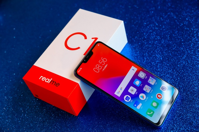 Realme C1 mau xanh mo ban tren kenh online cua TGDD va FPT Shop hinh anh 5