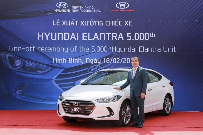 Hyundai Thanh Cong xuat xuong chiec Elantra thu 5.000 hinh anh 3