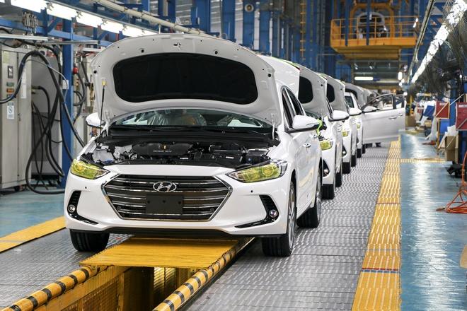 Hyundai Thanh Cong xuat xuong chiec Elantra thu 5.000 hinh anh 1